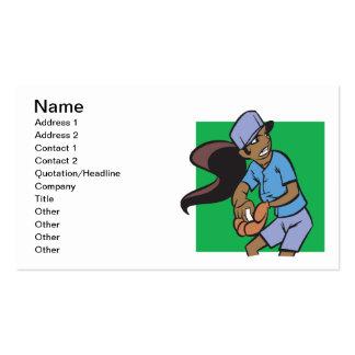 Softball Pitcher Business Card