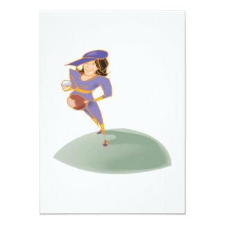 Softball Pitcher Card