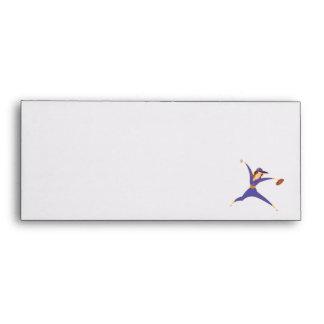Softball Pitcher Envelope