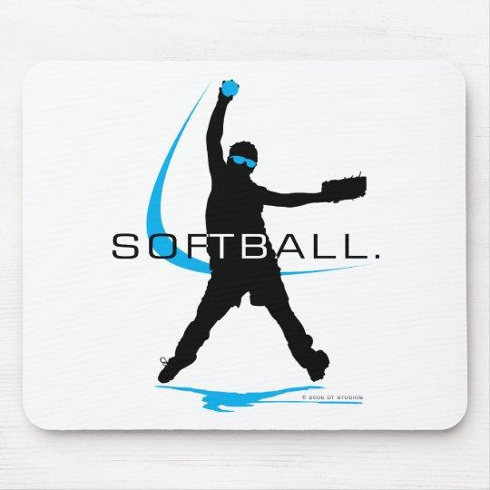 Softball - Pitcher Mouse Pad