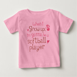 Softball Player (Future) Infant Baby T-Shirt