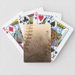 Softball Playing Cards