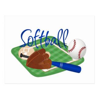 Softball Postcard
