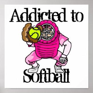 Softball print