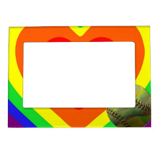 Softball Pride Magnetic Picture Frame