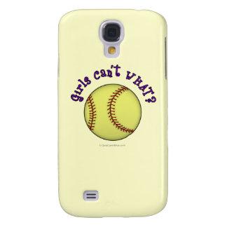 Softball-Purple Galaxy S4 Cover
