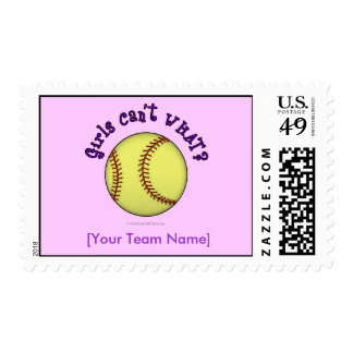 Softball-Púrpura Sello