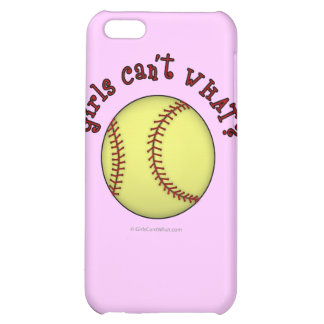 Softball-Red iPhone 5C Covers