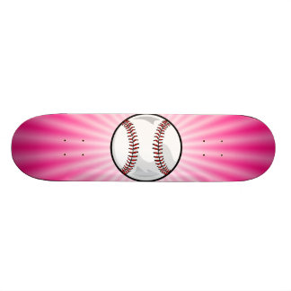 Softball rosado patín personalizado
