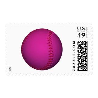 Softball rosado franqueo