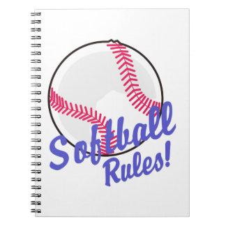 Softball Rules! Notebook