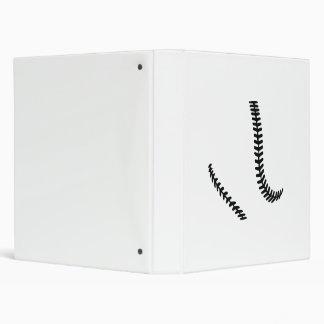 Softball seams binder