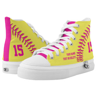 Softball Shoes with YOUR NAME, NUMBER