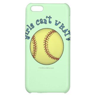 Softball-Sky Blue Cover For iPhone 5C