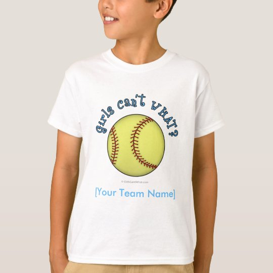 Softball-Sky Blue T-Shirt