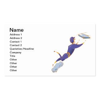 Softball Sliding Business Card
