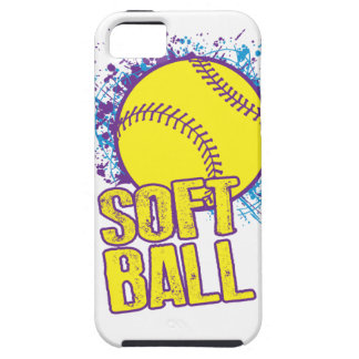 Softball Splatter iPhone SE/5/5s Case