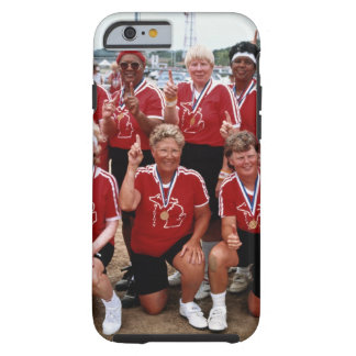 Softball team are competitors at the National Tough iPhone 6 Case