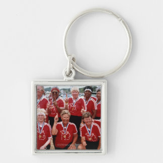 Softball team are competitors at the National Keychain