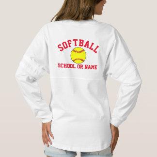 Softball Team School Player Name Custom Spirit Jersey