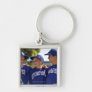 Softball teammates keychain