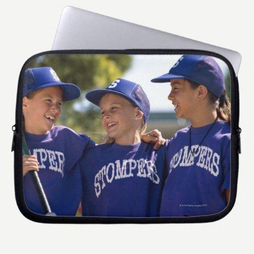 Softball teammates laptop sleeve