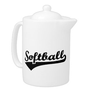 Softball Teapot