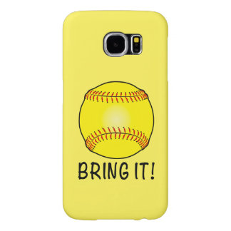 Softball: ¡Tráigalo! Funda Samsung Galaxy S6