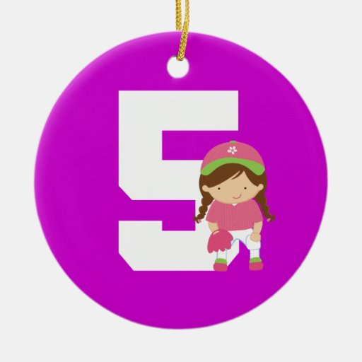 Number 5 ornaments number 5 ornament designs zazzle for Number of ornaments for christmas tree