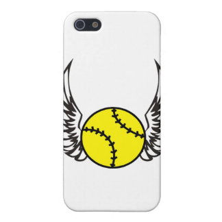 softball Wings Cover For iPhone SE/5/5s