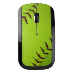 Softball Wireless Mouse at Zazzle