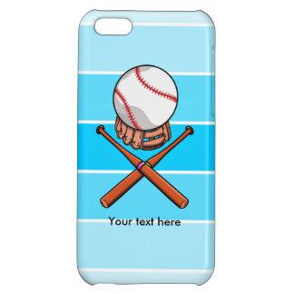 Softball With Blue Stripe Pattern iPhone 5C Case