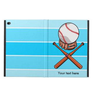 Softball With Blue Stripe Pattern Powis iPad Air 2 Case