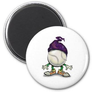 Softball Wizard Magnet