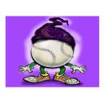 Softball Wizard Post Card
