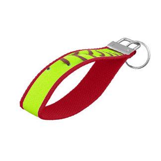 Softball Yellow Fast Pitch 8U 10U Wrist Key Chain Wrist Keychain