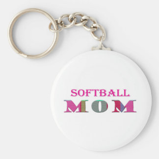 SoftballMom Keychain