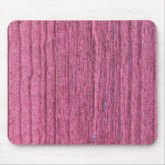 Softened board wall with bright red paint mouse pad