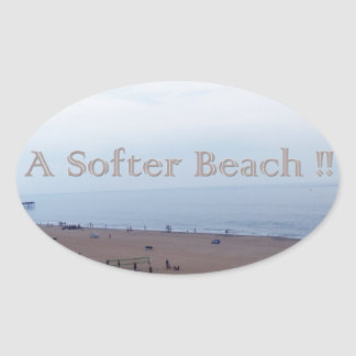 Softer Beach Sticker
