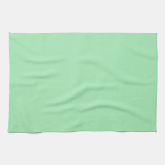 Softest Spring Light Green Personalized Background Hand Towels