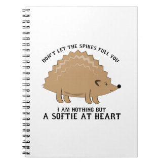 Softie at Heart Spiral Notebooks