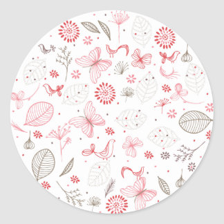 Softly Blooming Envelope Sticker Seal