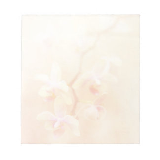 Softly Faded Orchids Notepad