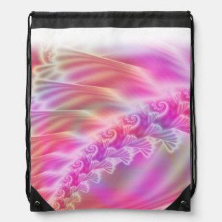 Softly Satin Drawstring Backpack