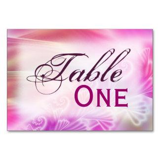 Softly Satin Table Card