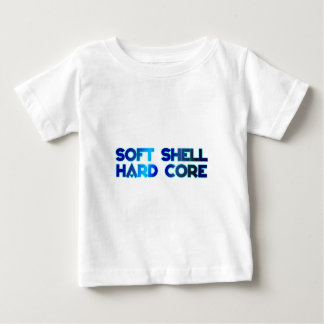 softly shell hard core baby T-Shirt