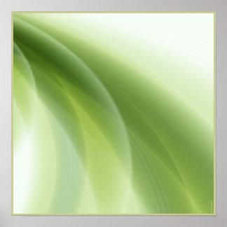Softly Summer Green. Poster