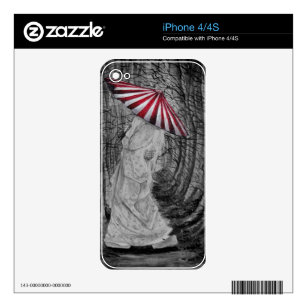 Softly walking decal for iPhone 4S