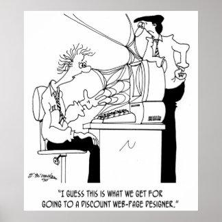 Software Cartoon 6821 Poster