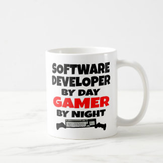 Software Developer Gamer Classic White Coffee Mug